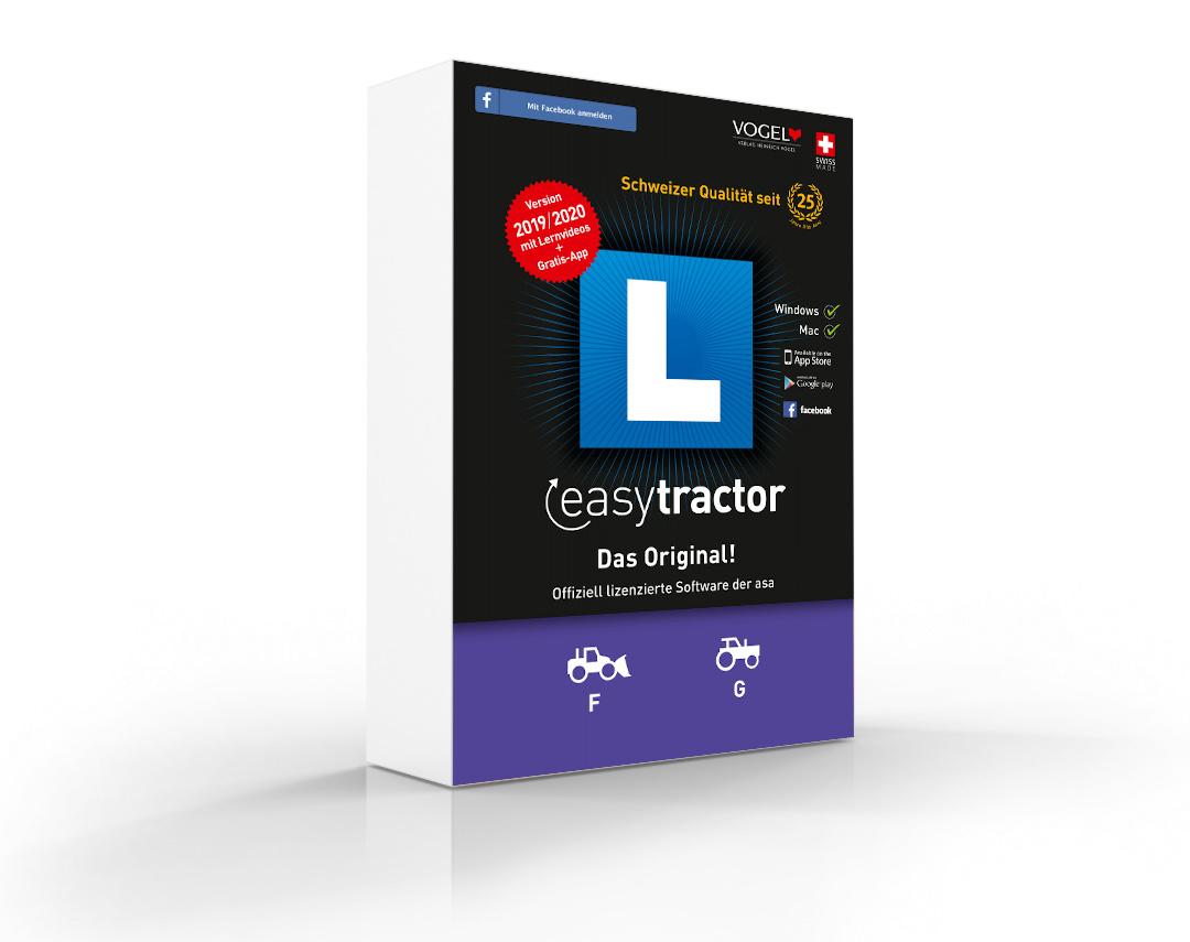 Lernsoftware - easyTractor